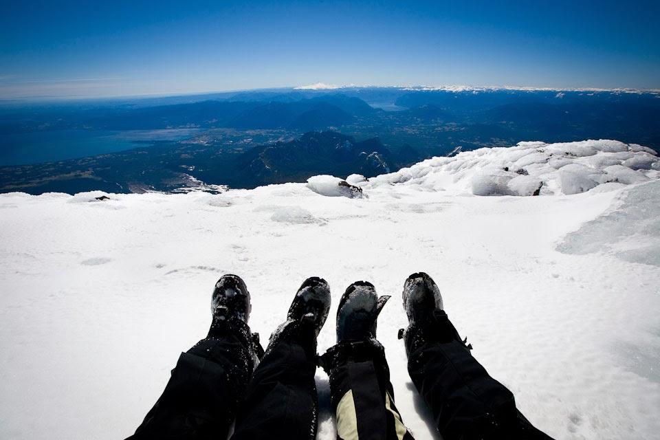 Volcanoe Villarrica (2847 m), Pucon, Chile