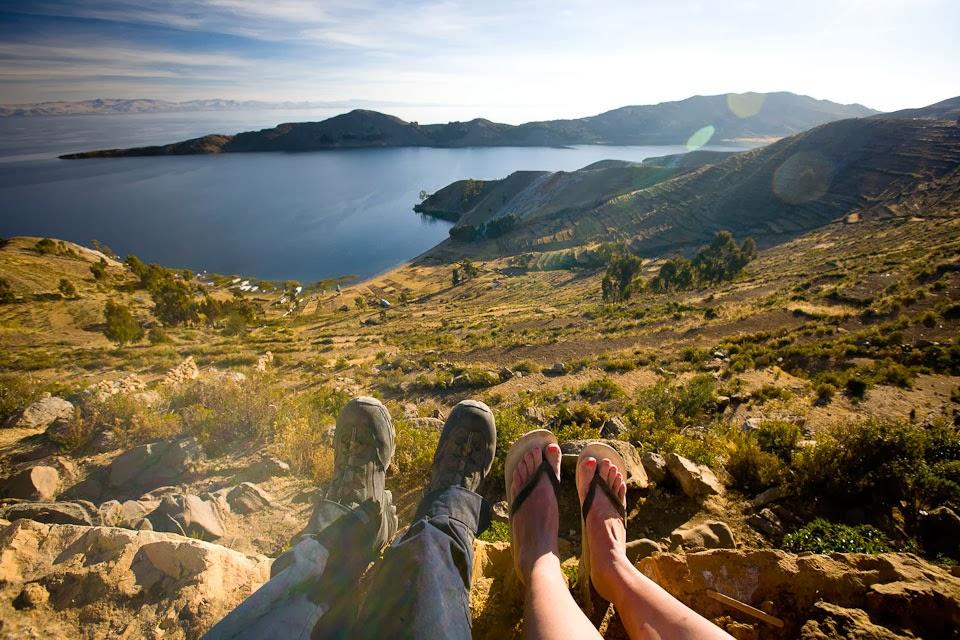 Isla de la Sol, Lake Titicaca, Bolivia