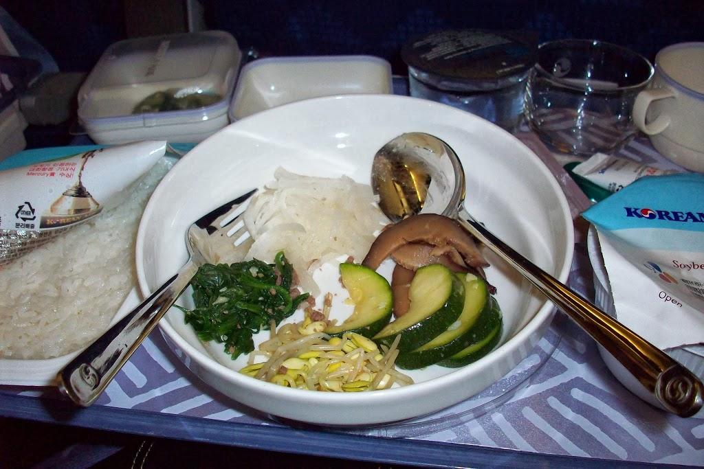 Bibimbab ala Korean Air