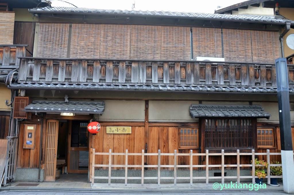 Machiya khas Jepang tempo dulu