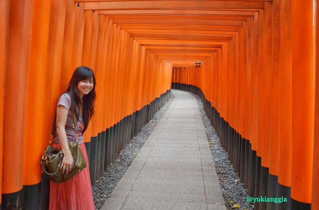 in Fushimi Inari Taisha, Kyoto