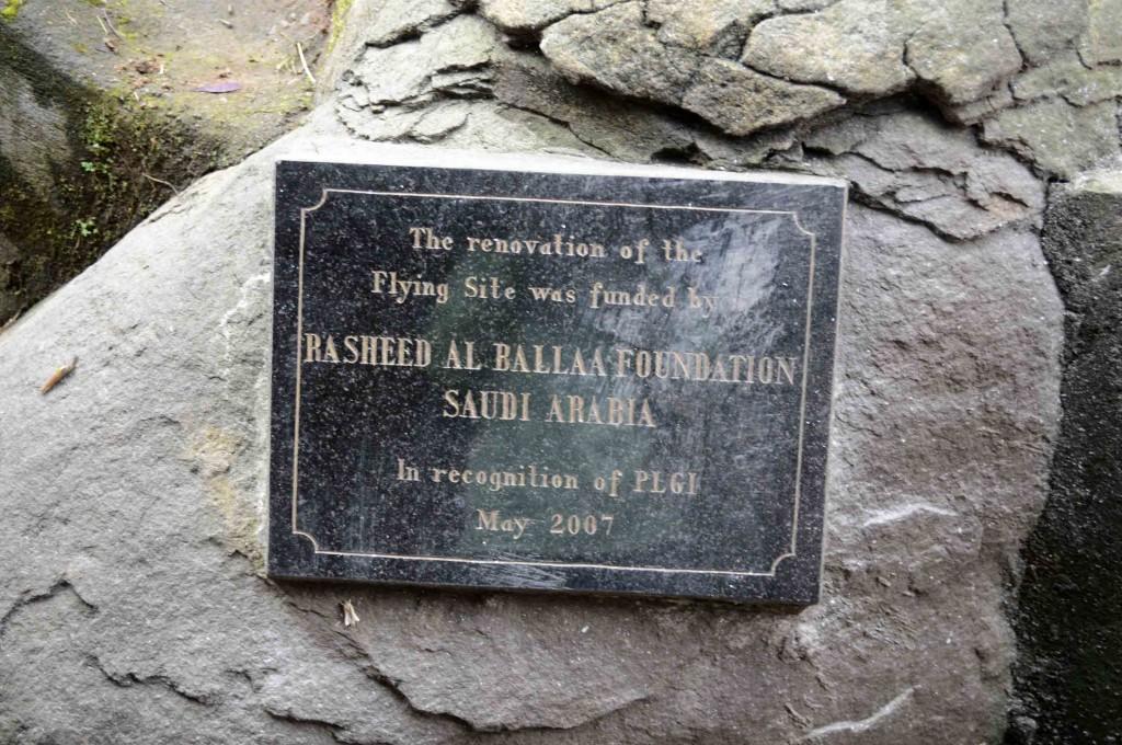 Ternyata flying site ini ditemukan oleh orang Arab