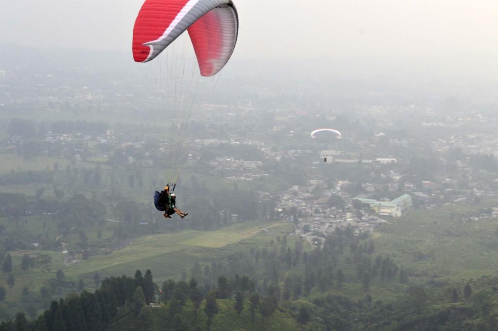 I'm flying!