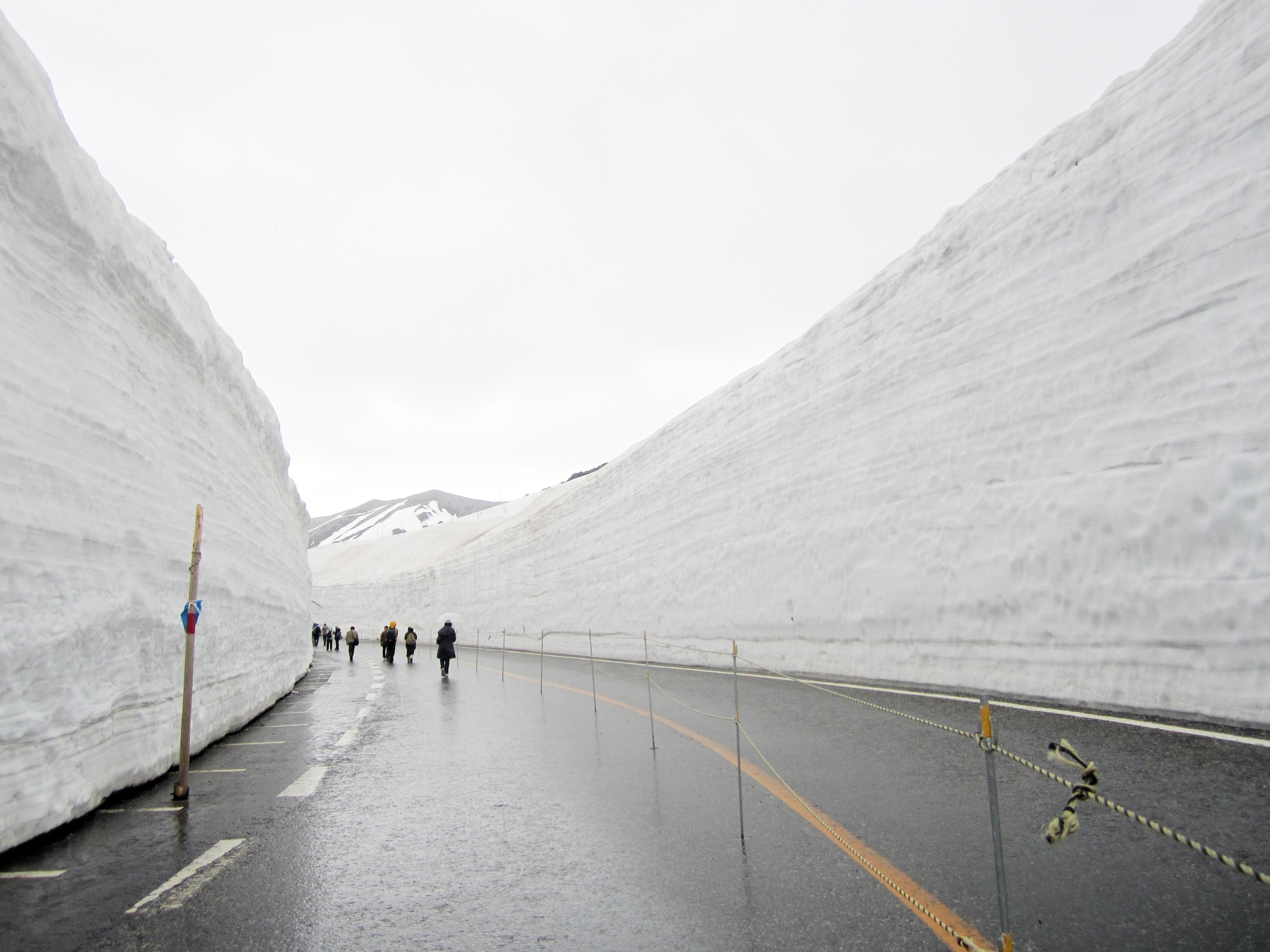 Tateyama: Bermain Salju di Musim Semi
