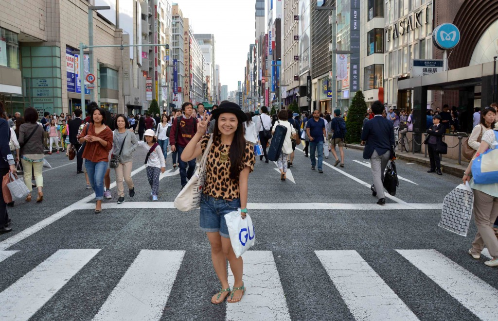 Berbelanja di Ginza, Tokyo