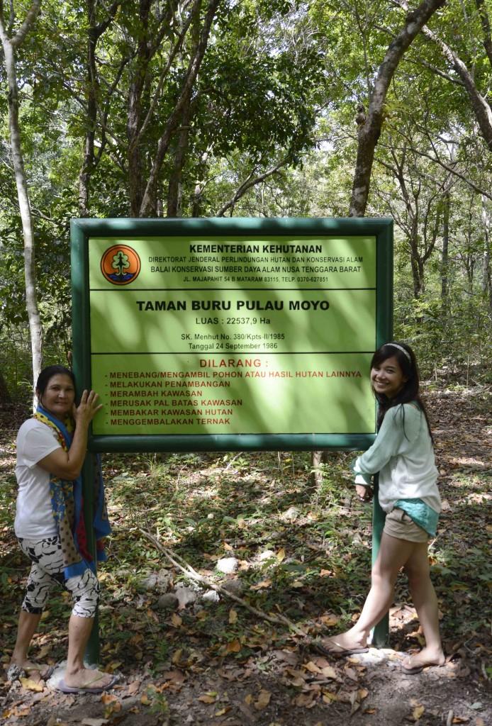 Selamat datang di Taman Buru Pulau Moyo, Sumbawa