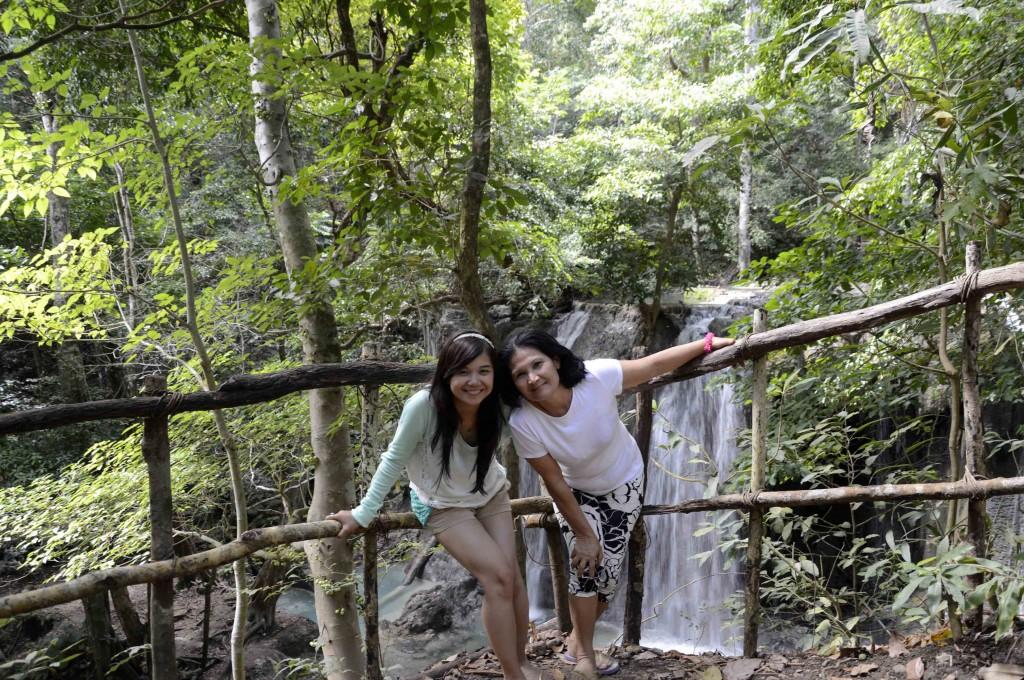 Di atas Air Terjun Matajitu, Moyo