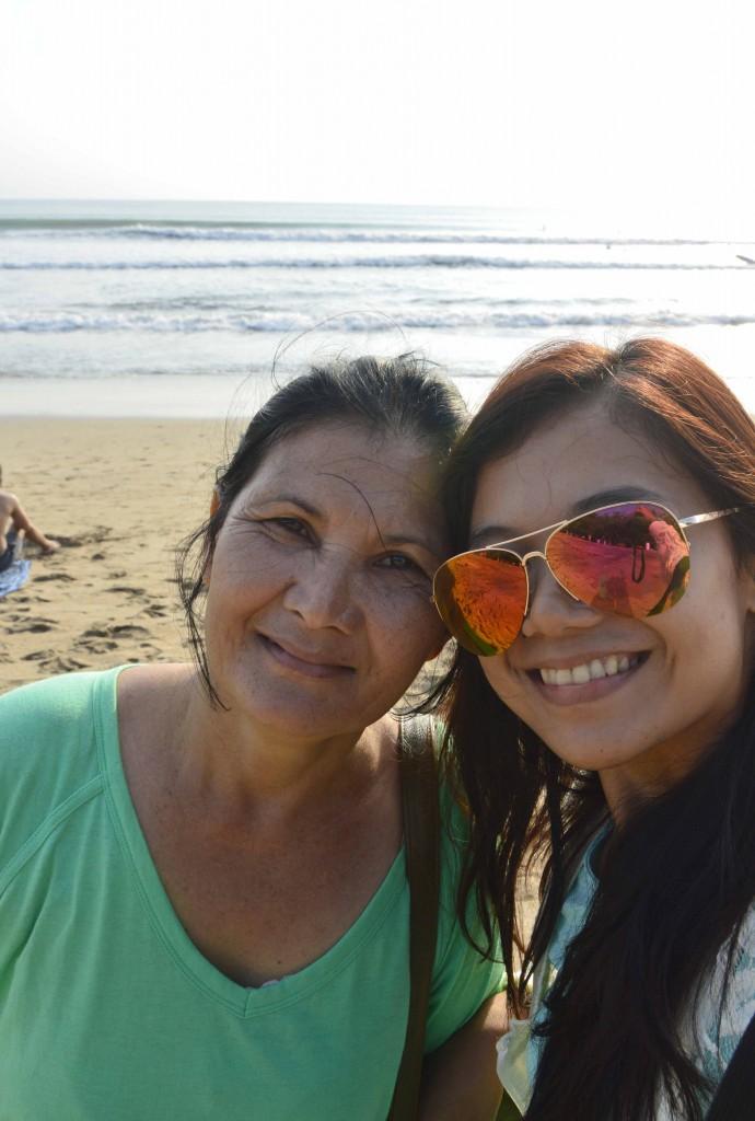 Selfie di Pantai Kuta!