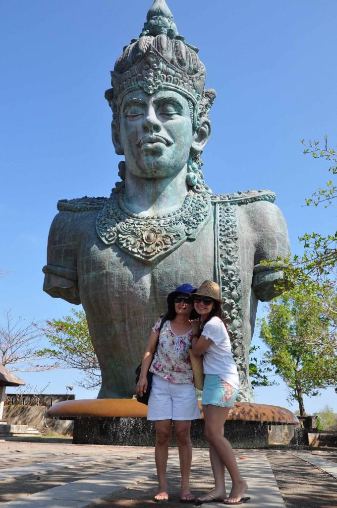 Patung Wisnu di Taman Budaya Garuda Wisnu Kencana, Bali
