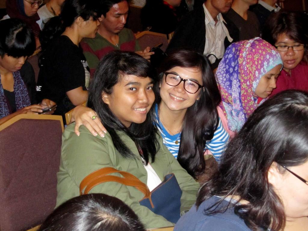 Bersama Meidi yang hobi geret koper! (photo by @adieriyanto)