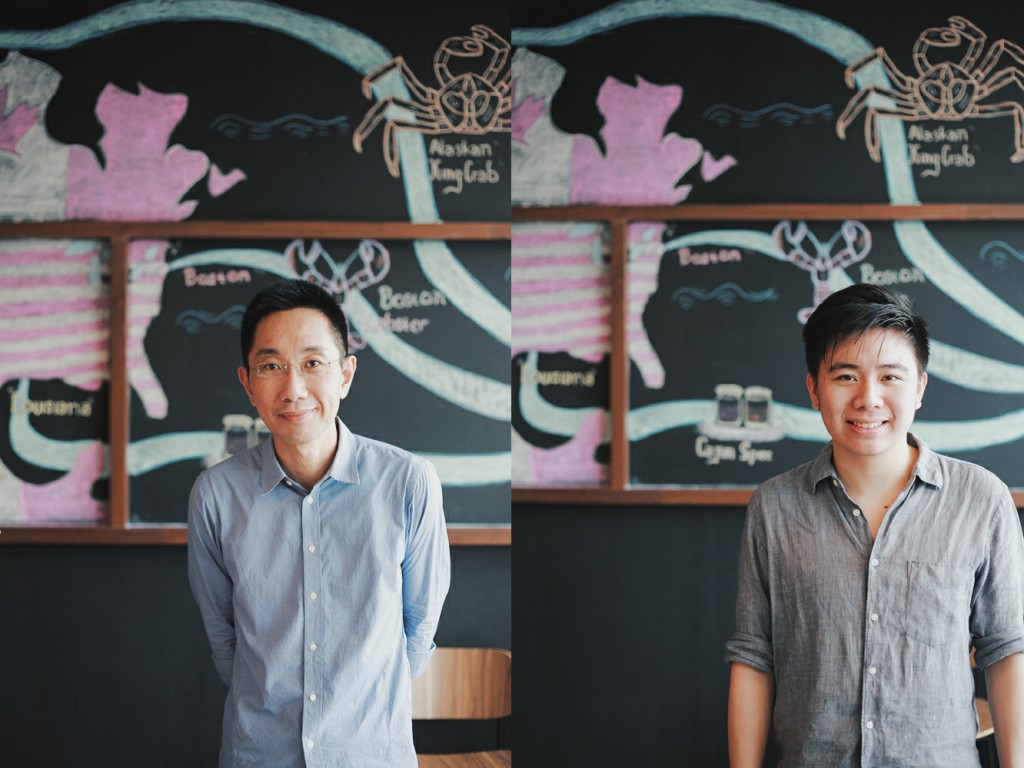 Chef Anthony dan Tommy Putra