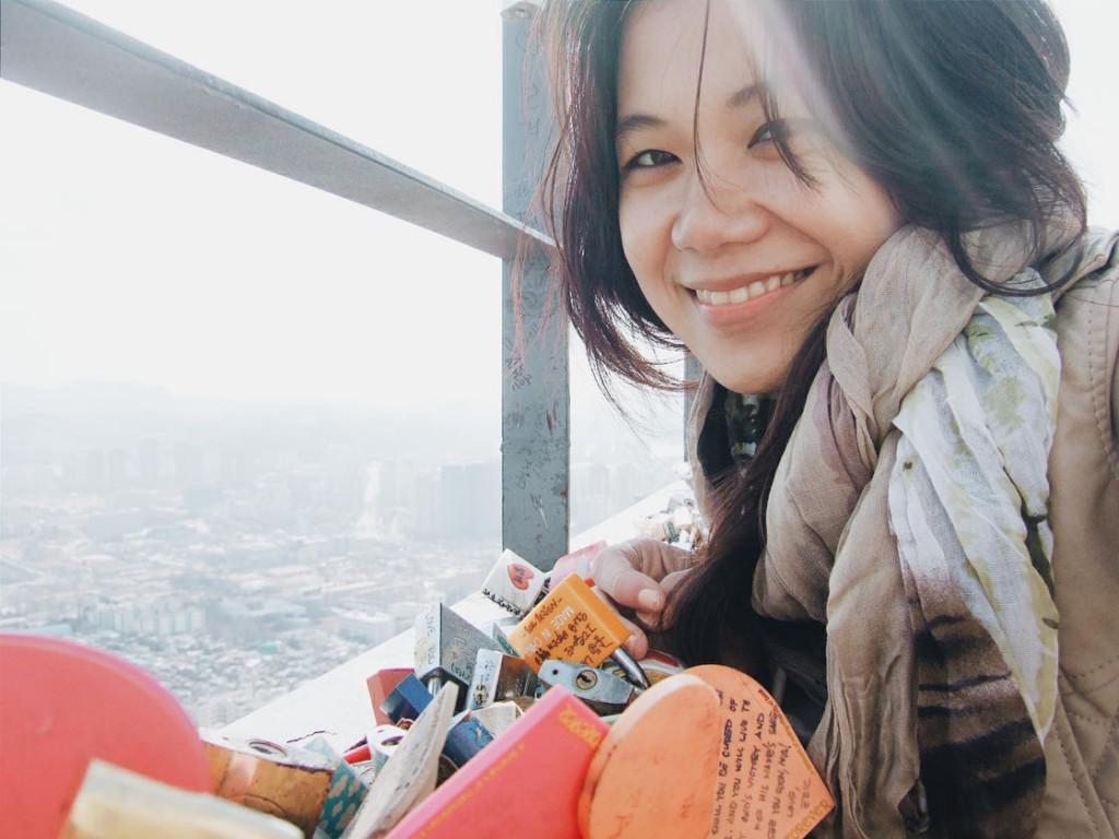 gembok cinta di namsan tower