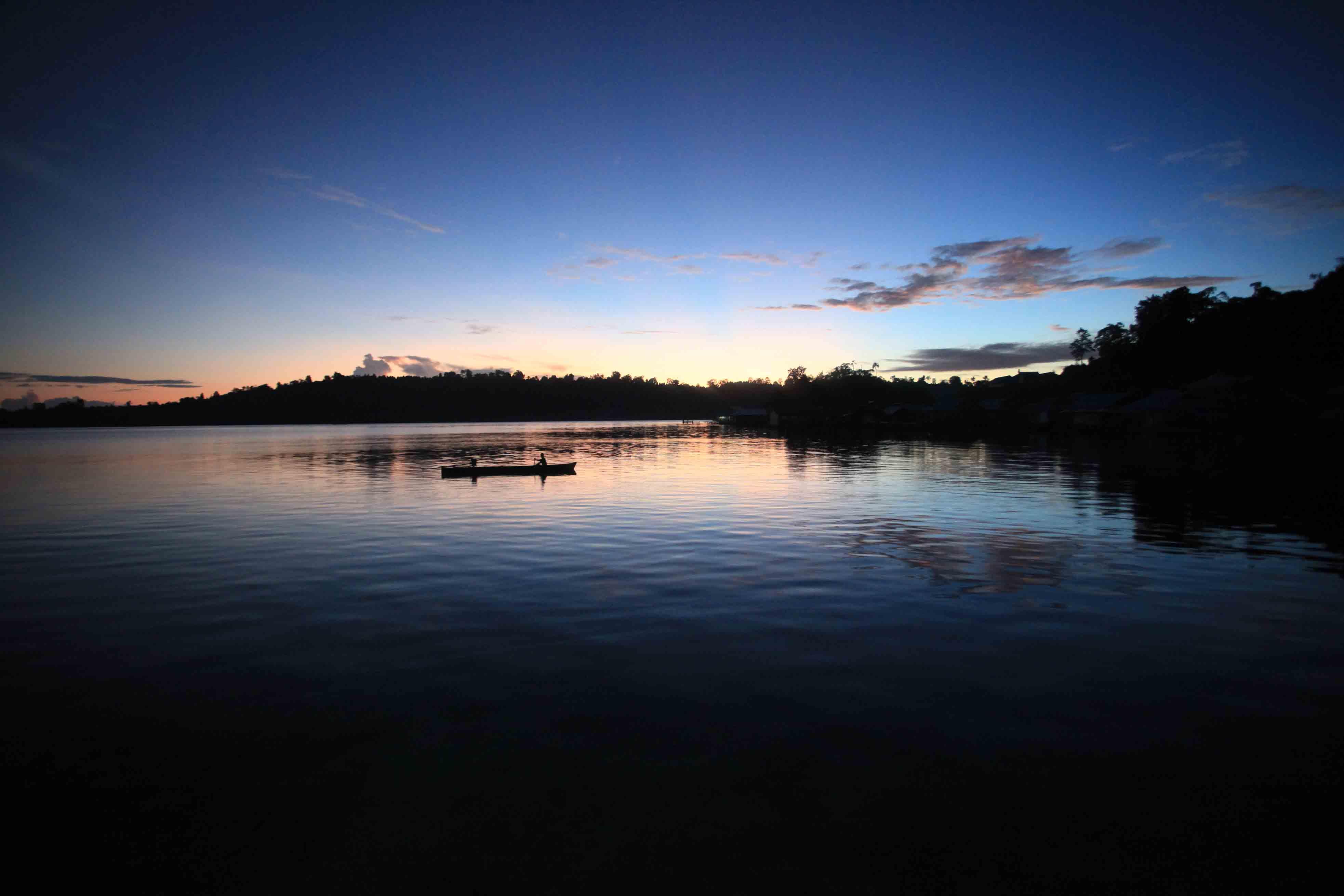 Menjelang matahari terbit di Sawai