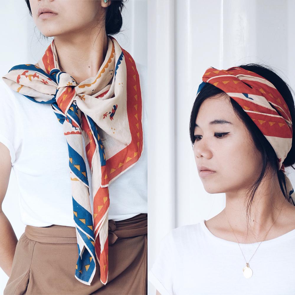 scarf sejauh mata memandang