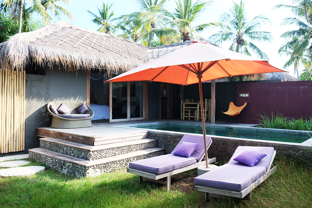 slow villas gili air