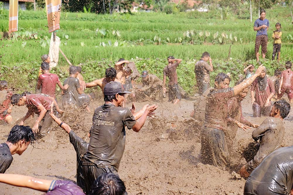 Perang lumpur