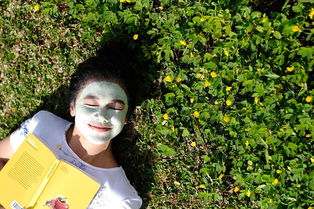 ohelterskelter.com garnier matcha clay mask